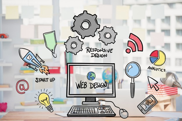 web-design-concept-with-drawings_1134-77